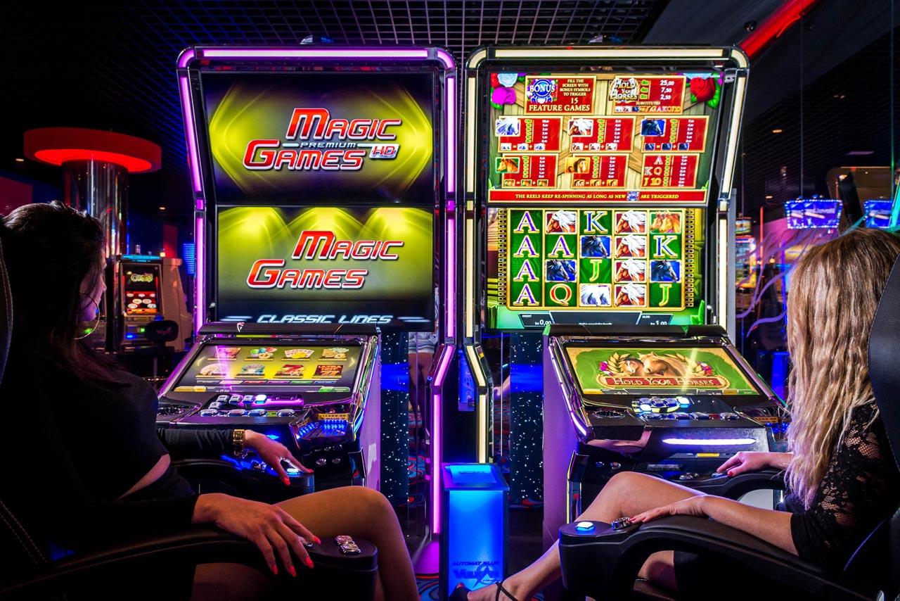 Игровые автоматы в казино Вулкан Россия